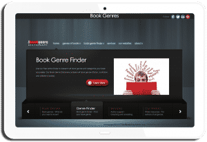 Book Genres Website