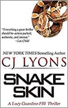 CJ Lyons Snake Skin Book Cover